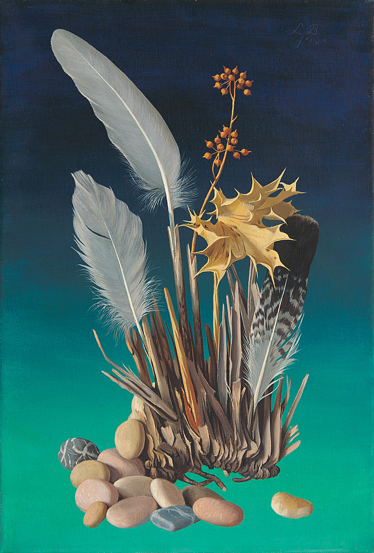 Feathers Gathered by Aeolus, Goddes of the wind. San Pedro, 1 Lodewijk Bruckman (1903-1995) - Kunsthandel Studio 2000