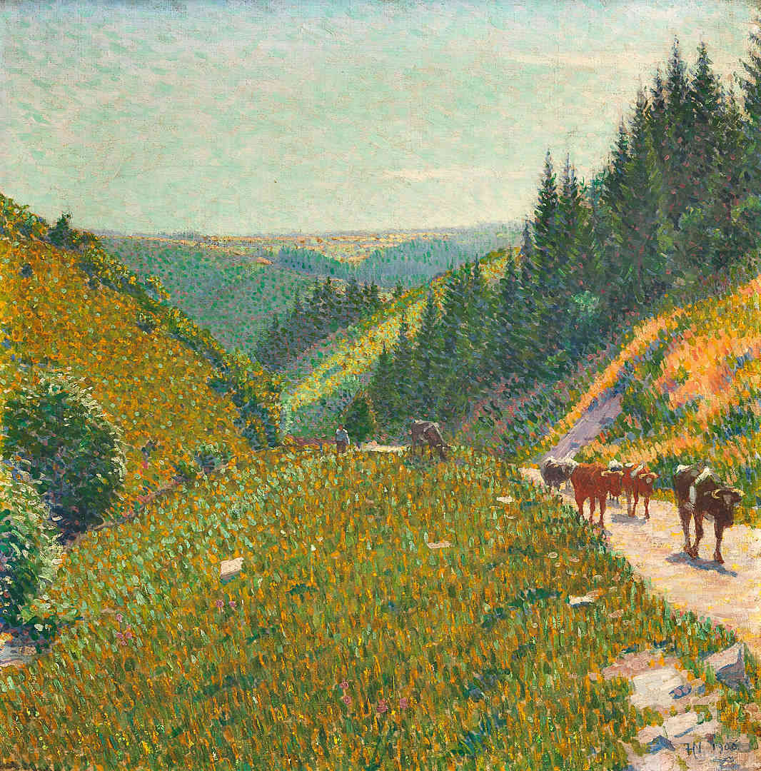 Cattle on the mountain Ferdinand Hart Nibbrig (1868-1915) - Kunsthandel Studio 2000