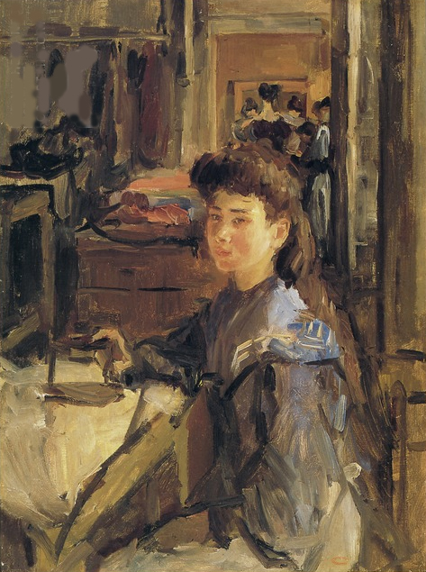 In the sewing atelier, ca. 1885-1920 Isaac Lazarus Israels (1865-1934) - Kunsthandel Studio 2000