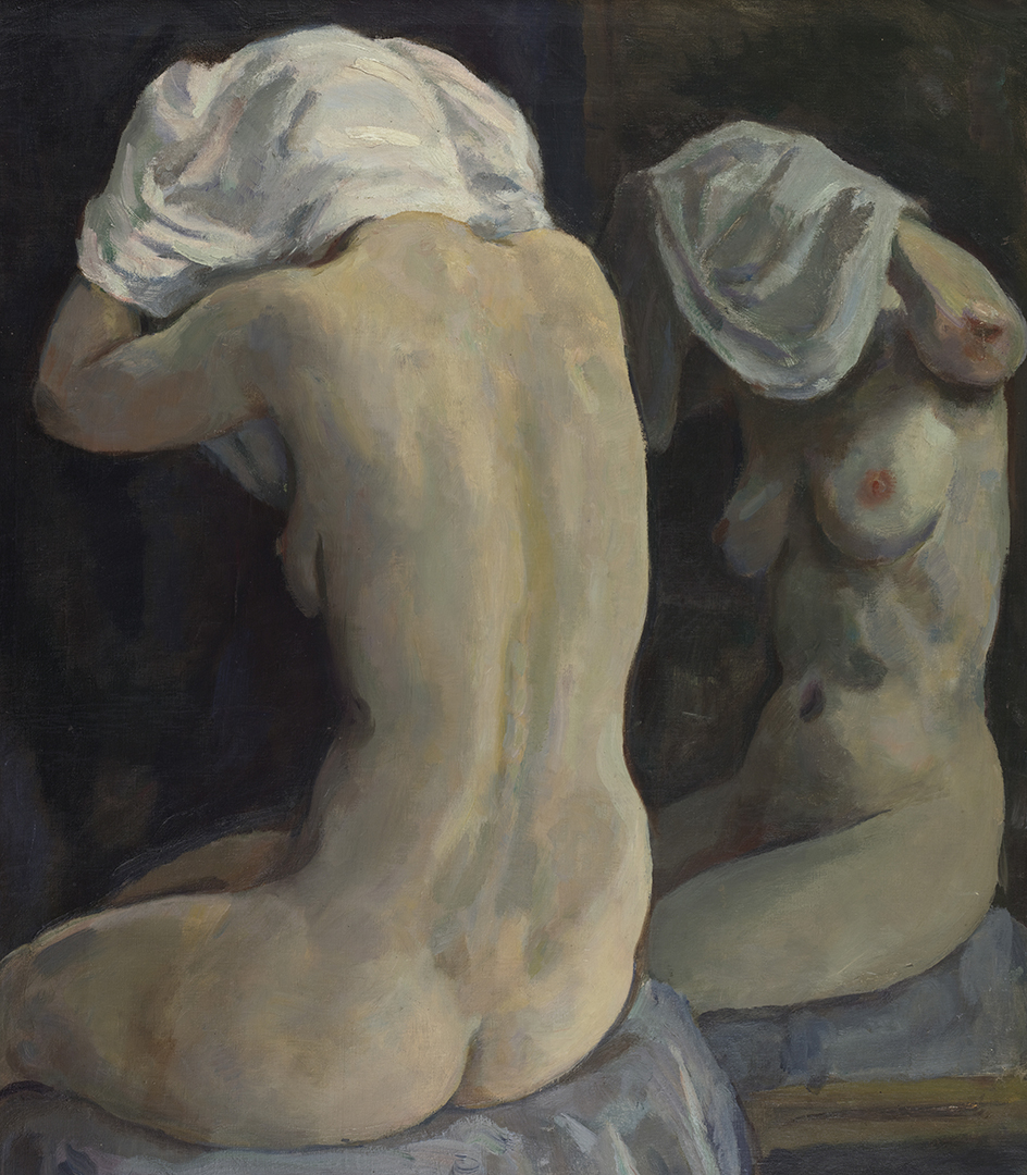 Female nude with reflection, Amsterdam ca. 1933