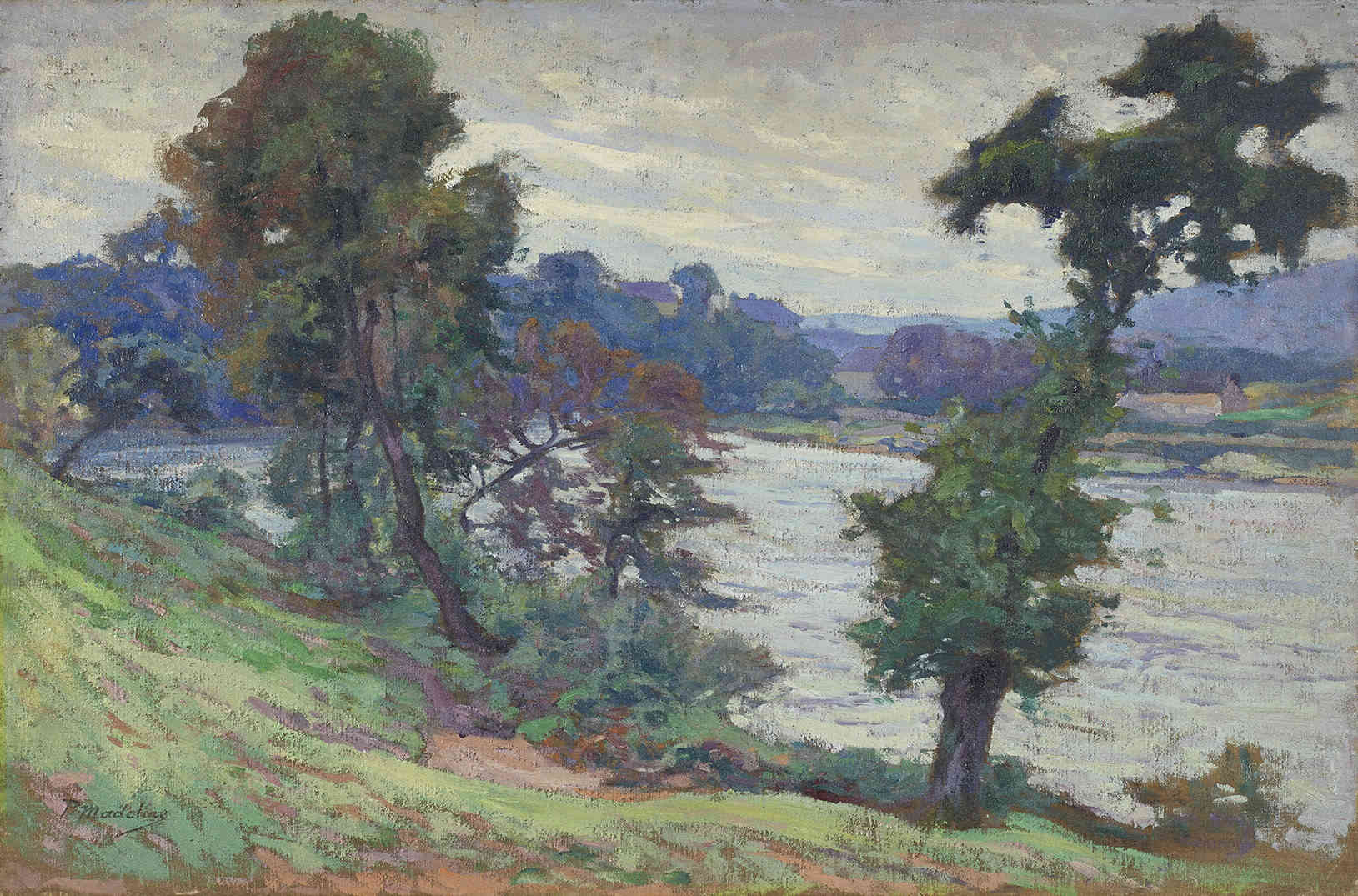 Bords de Dordogne, Largentat Paul Madeline - Kunsthandel Studio 2000