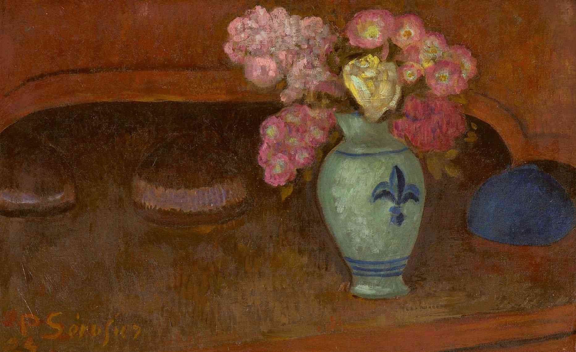 Nature morte aux roses Paul Sérusier (18631864-1927) - Kunsthandel Studio 2000