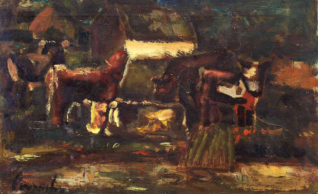 Cows in a meadow Constant Permeke (1886-1952) - Kunsthandel Studio 2000