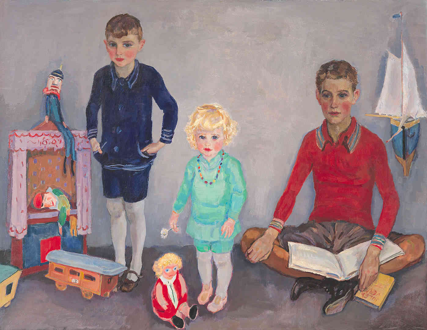 Jan, Rob en Liesje Sluijters Jan Sluijters (1881-1957) - Kunsthandel Studio 2000