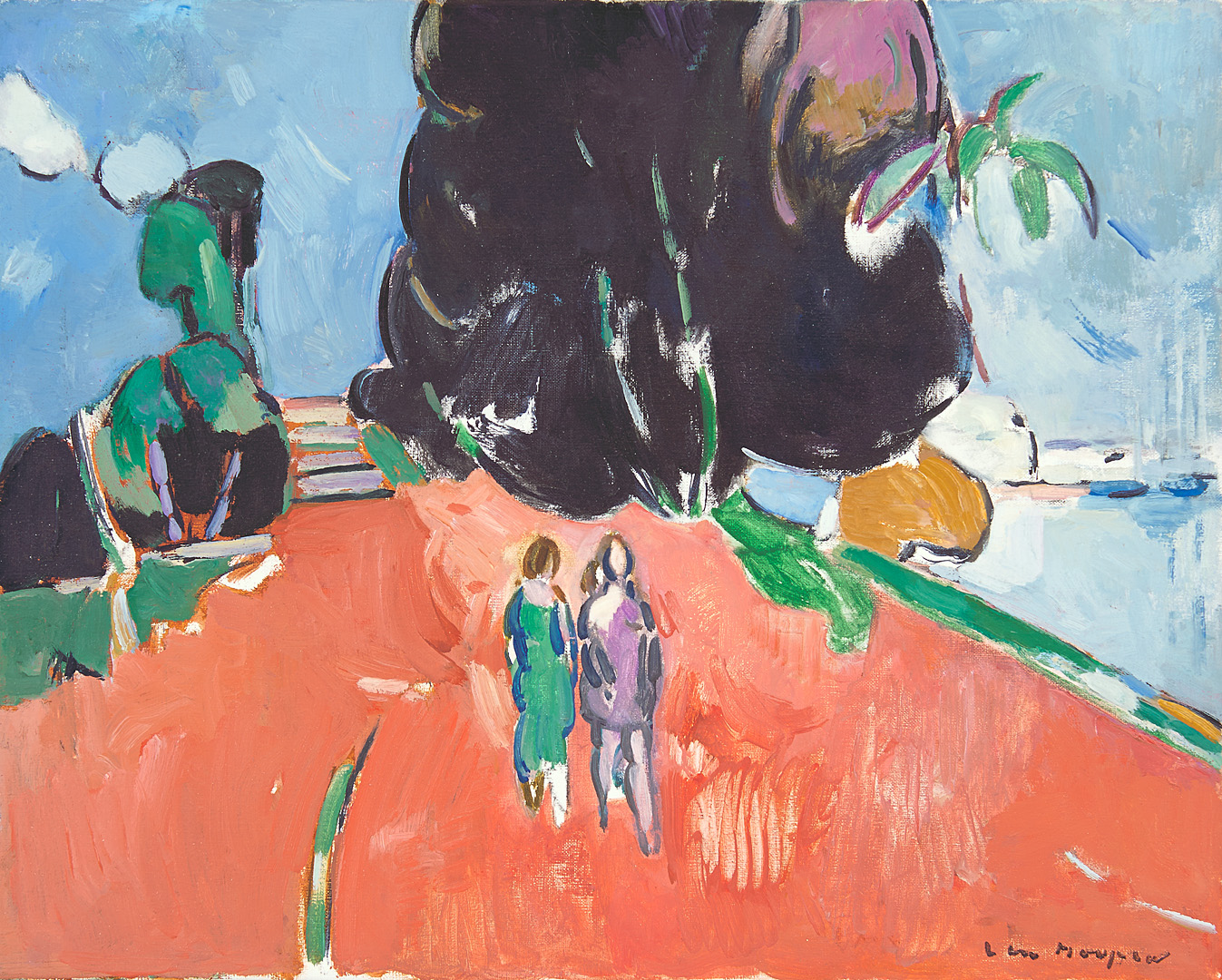Rivièra-landschap, La Ciotat 1988 Paul Hugo ten Hoopen (1927-) - Kunsthandel Studio 2000