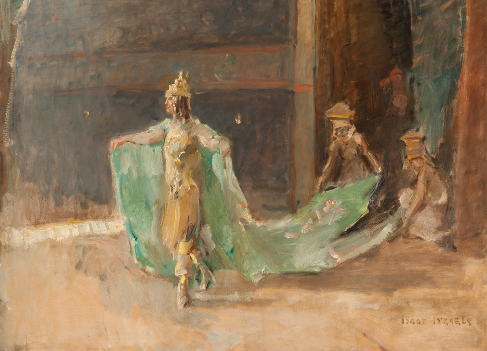 Dancer in the Scala theatre, The Hague Isaac Lazarus Israels (1865-1934) - Kunsthandel Studio 2000