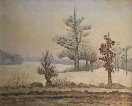 Winterlandschap Jan Zondag (1891-1982) - Kunsthandel Studio 2000