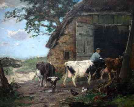 To the stable, Laren