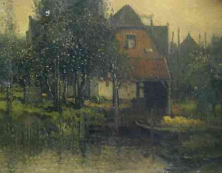 Schemerlicht Hermanius Anthonius (Henri) van Daalhoff (1867-1953) - Kunsthandel Studio 2000