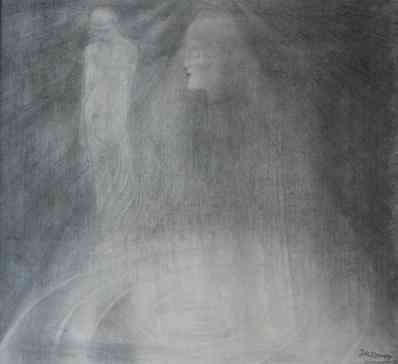L' Apparition Mystique Jan Toorop (1858-1928) - Kunsthandel Studio 2000