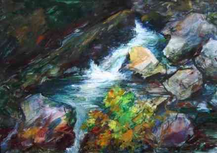 Waterval Bob ten Hoope (1920-) - Kunsthandel Studio 2000