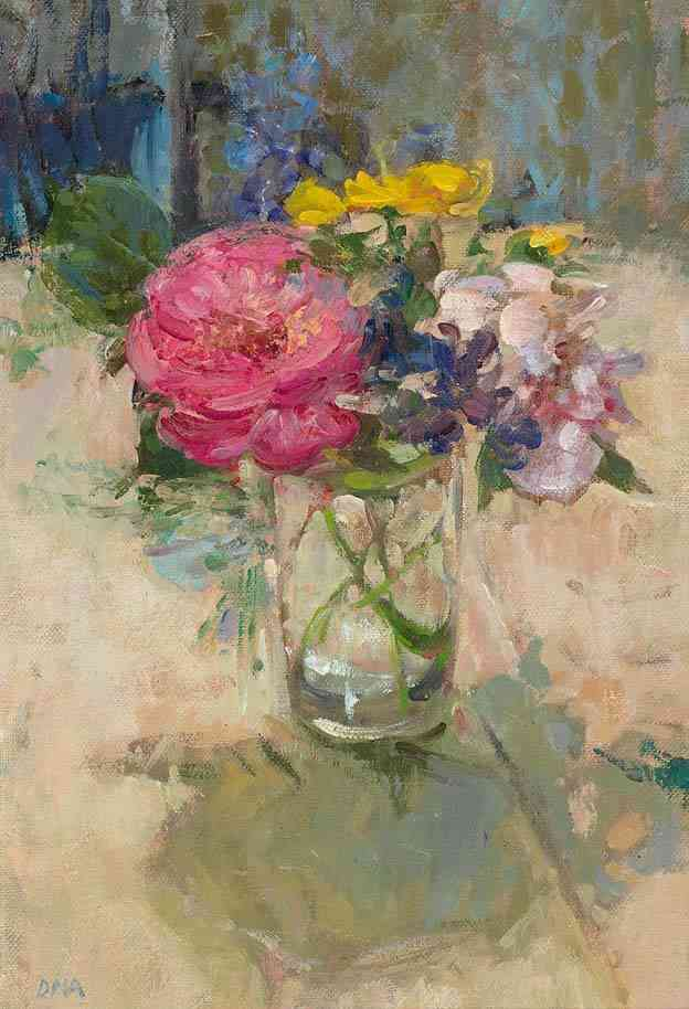 A summer bunch Diana Armfield RA (1920-) - Kunsthandel Studio 2000
