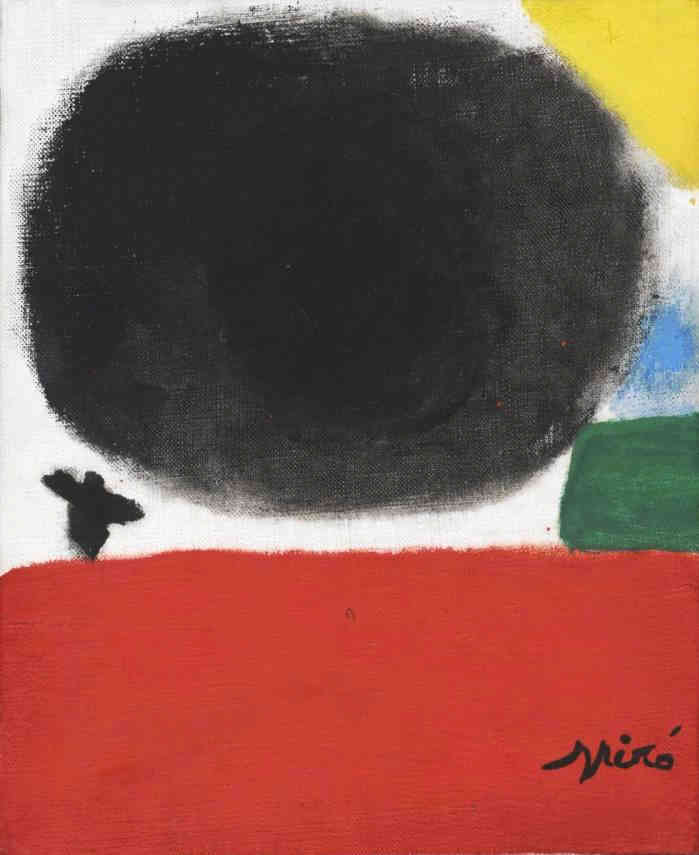 Untitled Joan Miro (1893-1983) - Kunsthandel Studio 2000