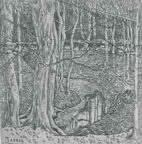 In het bos Jan Toorop (1858-1928) - Kunsthandel Studio 2000