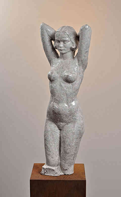 Nude with raised arms Hildo Krop () - Kunsthandel Studio 2000