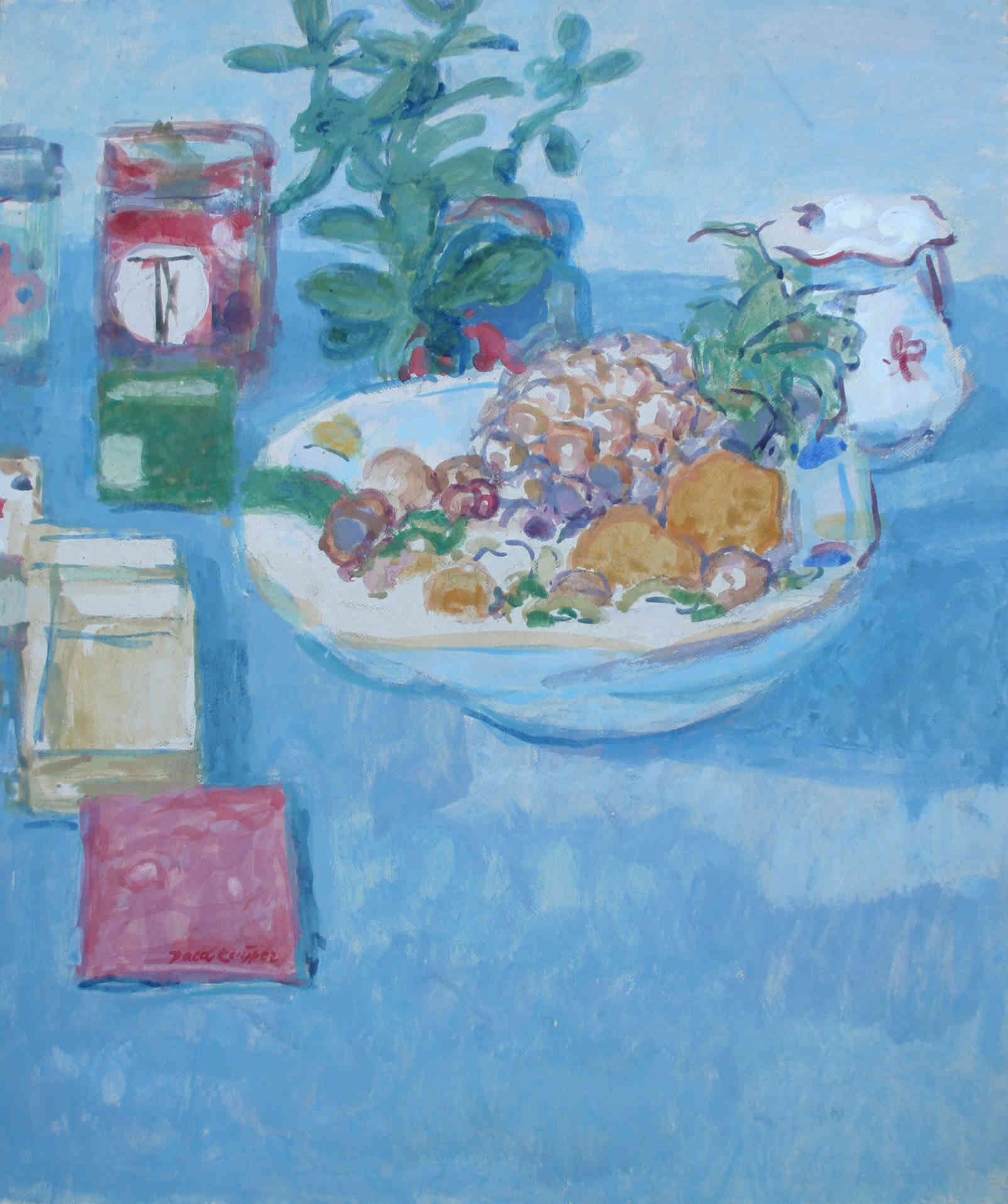 Stilleven met fruit Jacob Kuijper (1919-2007) - Kunsthandel Studio 2000