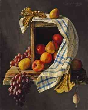 fruit, box and towel Lodewijk Bruckman (1903-1995) - Kunsthandel Studio 2000