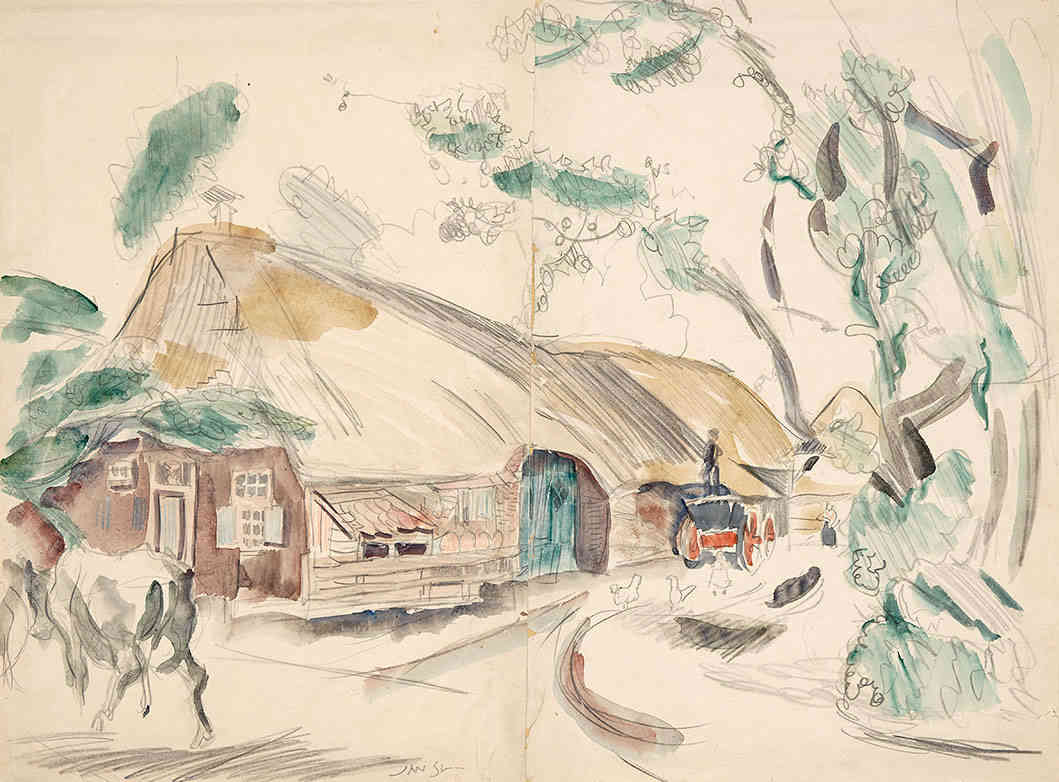 Staphorst Jan Sluijters (1881-1957) - Kunsthandel Studio 2000